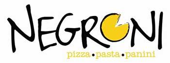 Negroni pizza at Corfu airport